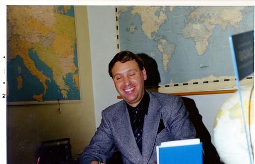 1974 Carl-Eric på resebyrån