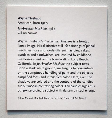 writing art exhibition labels font
