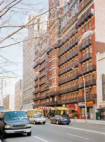 The Hotel Chelsea, New York City.
