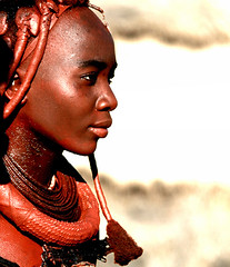 Himba's spirit - Namibia (kryyslee) Tags: world pictures voyage africa trip travel portrait woman color travelling colors face canon photography eos photo gesicht foto tour faces image photos pics spirit couleurs profile picture images tribal du adventure serenity round around tribe christophe monde backpacker amateur pict namibia soe autour couleur profil indigenous visage himba afrique tribu aroundtheworld aventure namibie visages tourdumonde 50d 400d abigfave eos400d anawesomeshot aplusphoto firsttheearth flickrchallengegroup flickrchallengewinner superhearts platinumheartaward kryyslee christophepaquignon paquignon brppc07