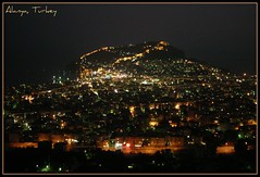 Alanya, Antalya,Turkey on the night...