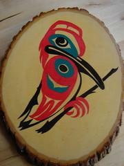 The Hummingbird (Northwest haidaan) Tags: art painting hummingbird native haida
