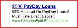 Christian Payday Loans