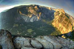 Yosemite Valley (Nick  Carlson) Tags: pictures california sunset forest landscape photography photo photos pics smoke carlson nick picture pic yosemite granite halfdome yosemitenationalpark glacierpoint glacialvalley nickcarlson truelifeimages glacialcarved nickcarlsonphotography