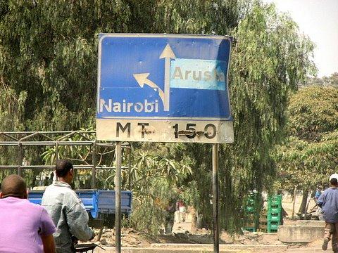 nairobi/arusha road
