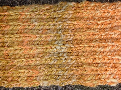 handspun scarf detail 3