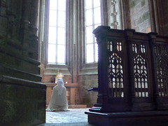 A Place to Pray (jsnowy2768) Tags: prayer meditation montsaintmichelabbey