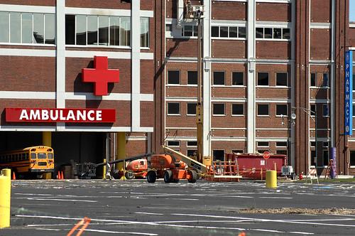 Gotham Hospital ER Entrance