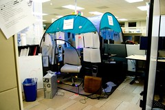 this is a tent of tranquility (Fenchurch!) Tags cubicle tent dojo supercube9000 & The Worldu0027s Best Photos of cubicle and tent - Flickr Hive Mind