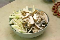 筊白筍和鮮香菇