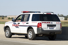 The Fuzz (Trainboy03) Tags: ford illinois pacific explorer union police il dekalb