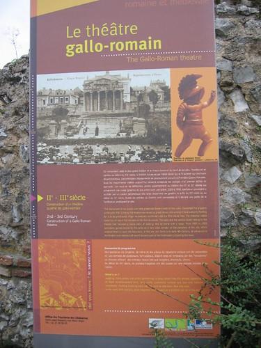 French-Roman theatre ruins, Lillebonne par phil_graham_2002