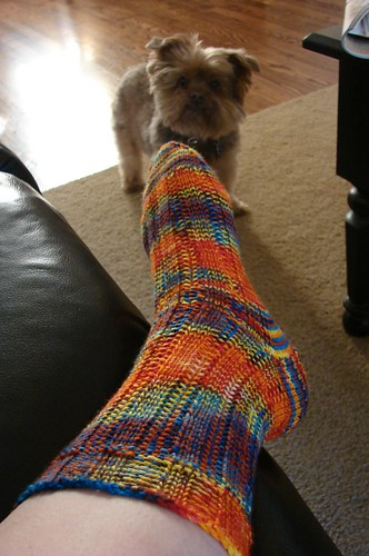 Roza's Socks (aka Thelma & Louise Socks)...