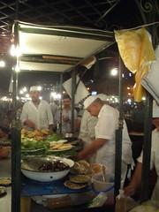 Marrakech - Jamaa El Fna: Stall 14 Fish & Chips.JPG (bernicelee) Tags: el september morocco marrakech 2007 fna jamaa