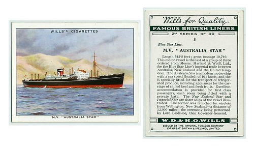 025-Famous British liners- (ca. 1922-1939)