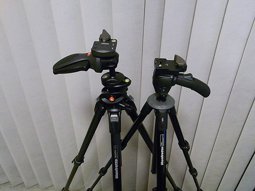 Tripods, new and old.