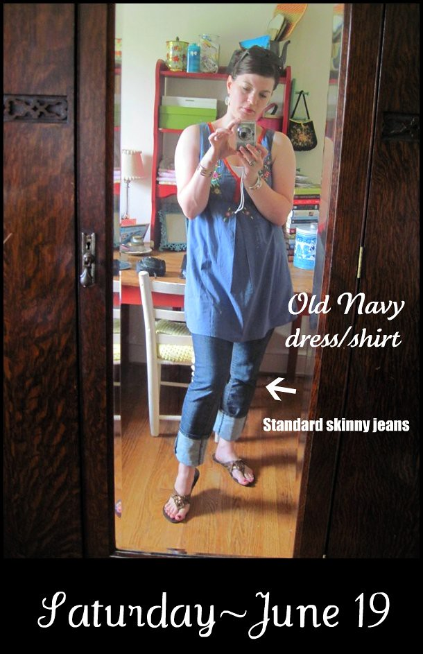What I Wore- June 19