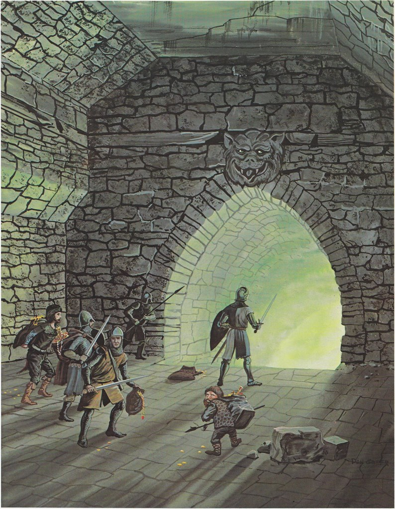Down In The Dungeon - Don Greer, Rob Stern (Squadron-Signal_1981)-No Exit