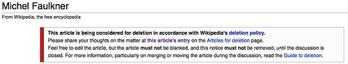 Wikipedia Vandalism by Tarc