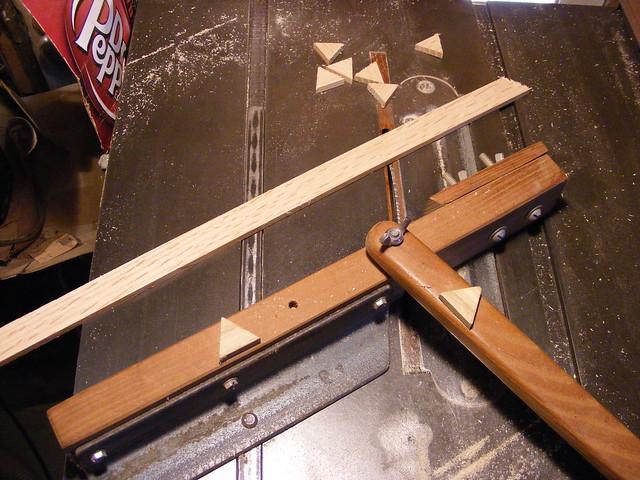 Making a Tumbling Block Cribbage Board #5