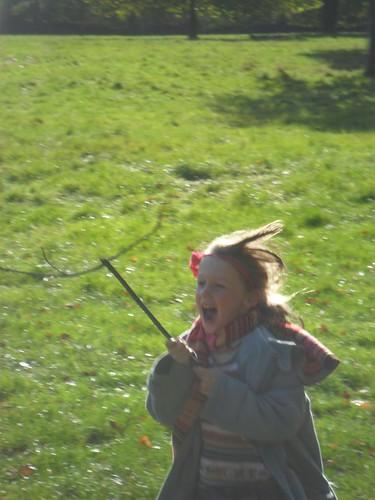 Jenna being a deer