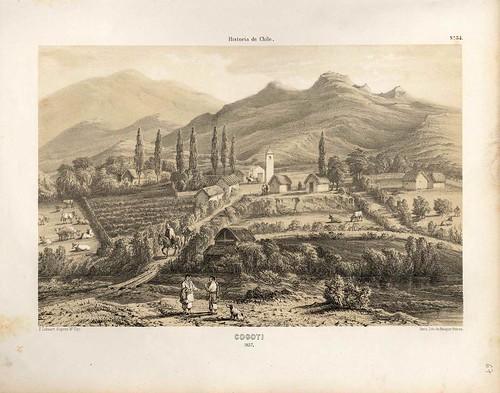 031-Cogoti en 1837-Atlas de la historia física y política de Chile-1854-Claudio Gay
