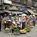 Market in old quarter