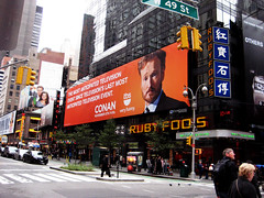 Conan O ' Brien Returns Billboard 7209 (Brechtbug) Tags: show above new york city nyc newyorkcity television night project poster square restaurant tv team o manhattan brian chinese broadway talk billboard worldwide coco late times ruby tbs documentation foos conan returns obrian manhattanm 11062010 crwdp