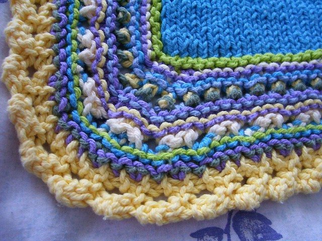 BABY BLANKET CROCHETED EDGINGS PATTERN ? CROCHET PATTERNS