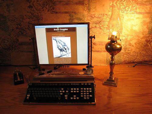 Steampunk Monitor Mod