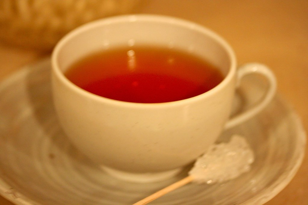 My cup of Takashimaya Rose tea