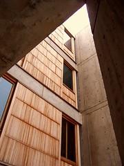 Salk Institiute (DisneyKrayzie) Tags: california building architecture concrete sandiego lajolla institute kahn salkinstitute salk louiskahn teak teakwood friendlychallenges