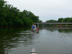 J & K head out first (jodola) Tags: river ottawa canoe foxriver