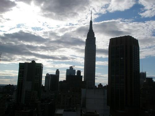 Atardecer en verano en Nueva York
