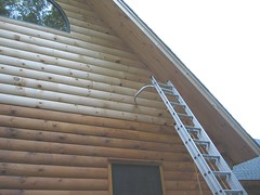 South end 1/2 stained
