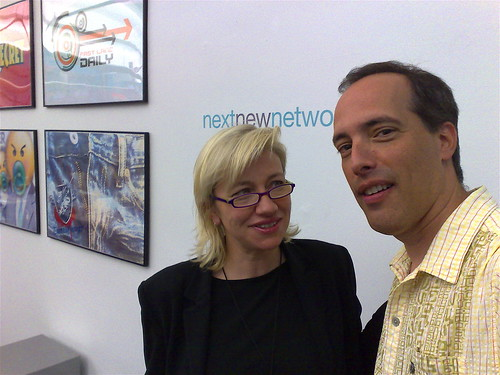 Halley and Steve At Next New Networks