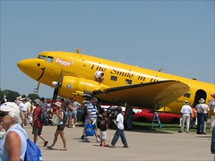 Duggy DC-3 (Observe The Banana) Tags: wisconsin airplane aircraft aviation young airshow dc3 eagles eaa oshkosh airventure 2007 duggy