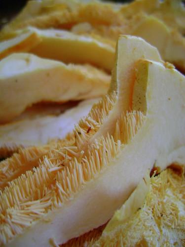 Sliced Hedghog Mushroom