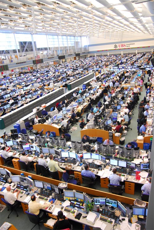 The Worlds Largest Trading Floor : UBS, Stamford, Connecticut