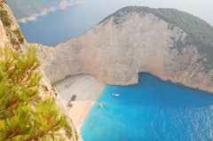 Navagio Beach - by RobW_
