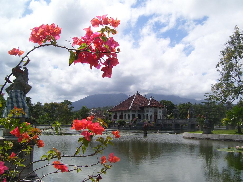 King's Pavillion in Taman Ujung, Karangasem