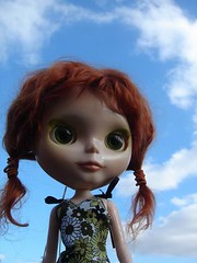 The sky's the limit! (Descending Angel) Tags: doll redhead mohair blythe neo custom takara sbl fiver paleskin ashlette pd1a