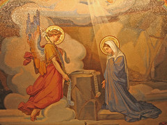 Detail of the Annunciation