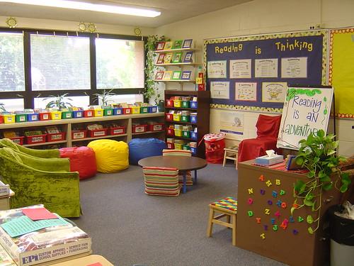 Classroom Library by jen lamar