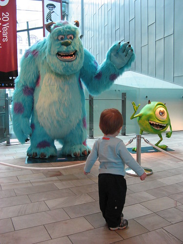 Henry meets Mike and Sulley