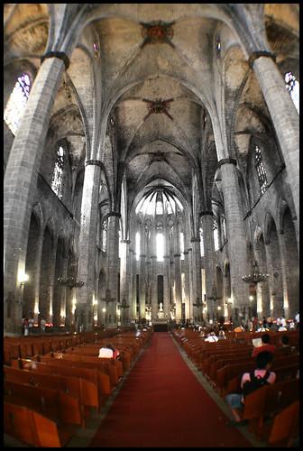 Santa María del Mar (II) by kurtxio.