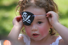 Pirate Riley. Aaarrhh Me Hearties! (peasap) Tags: summer girl pirates july parrot pirate eyepatch jollyroger skullandcrossbones pirateday internationaltalklikeapirateday mehearties nationaltalklikeapirateday aarrr thatsclassy