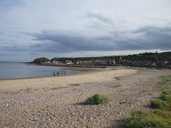 Stonehaven Beach View (Queenbie) Tags: sea beach view aberdeenshire stonehaven