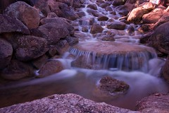 Silky (sallykelso) Tags: water canon waterfall stream long exposure slow explore 1022mm slowexposure silkywater 40d