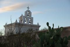 San Xavier del Bac Mission (S Migol) Tags: sunset vacation church geotagged catholic pentax roadtrip mission bluehour tucsonaz sanxavierdelbacmission southernarizona smigol sooc pentaxk10d smcpda1650mmf28edalifsdm stephenmigol december242008